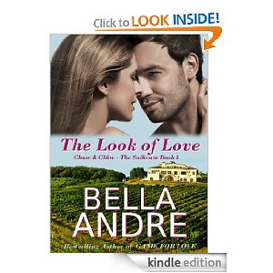 """Pure, sensual fun!"" Bella Andre's THE LOOK OF LOVE is our Kindle Nation eBook of the Day at just $4.99 with 4.3 Stars on 61 Reviews, and Here's a Free Sample!"