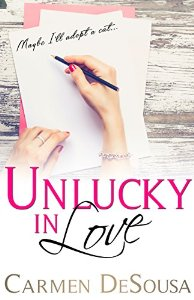 Brand new for July 13! Enter our Amazon Giveaway Sweepstakes to win a Kindle Fire tablet! Sponsored by Carmen DeSousa, author of Unlucky In Love