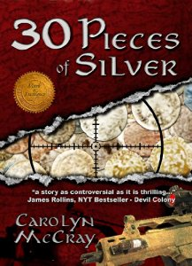 Brand new for September 15! Enter our Amazon Giveaway Sweepstakes to win a Kindle Fire tablet! Sponsored by Carolyn McCray, author of 30 Pieces of Silver