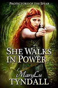 Enter here for your chance to win a brand new BookGorilla Giveaway!  Sponsored by MaryLu Tyndall, author of She Walks in Power