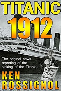 Brand new for December 31! Enter our Amazon Giveaway Sweepstakes to win a Kindle Fire tablet! Follow Ken Rossignol, author of Titanic 1912, for your chance to win!