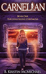 Have you entered today's brand new Kindle Fire Giveaway for February 13? Subscribe free for your chance to win!  And you can help keep the good times rolling by following today's giveaway sponsor, B. Kristin McMichael, and checking out Carnelian: The Chalcedony Chronicles #1!