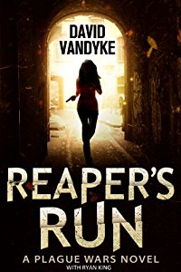 Have you entered today's brand new Kindle Fire Giveaway for February 12? Subscribe free for your chance to win!  And you can help keep the good times rolling by following today's giveaway sponsor, David VanDyke, and checking out Reaper's Run: Plague Wars Series Book 1!
