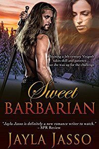 Have you entered today's brand new Kindle Fire Giveaway for March 23? Subscribe free for your chance to win!  And you can help keep the good times rolling by following today's giveaway sponsor, Jayla Jasso, and checking out Sweet Barbarian!