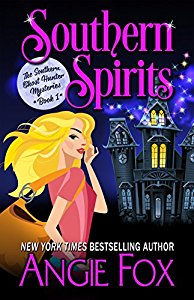 Have you entered today's brand new Kindle Fire Giveaway for March 24? Subscribe free for your chance to win!  And you can help keep the good times rolling by following today's giveaway sponsor, Angie Fox, and checking out Southern Spirits!