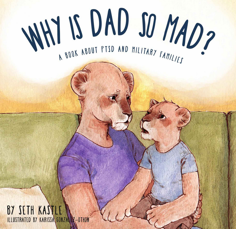 Military Dad Couldn't Find a Book to Explain PTSD to His Kids, So He Wrote One