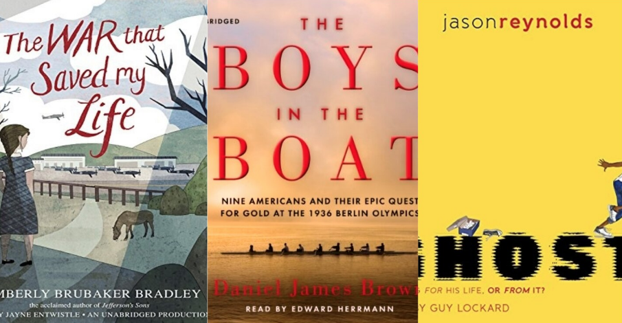 Audiobooks can help get you through forced family time. Here are picks for listening together
